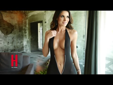 Vanessa Arias en la revista H para hombres super sexy! (VIDEO)